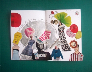 Picture of collage by S. Bowie