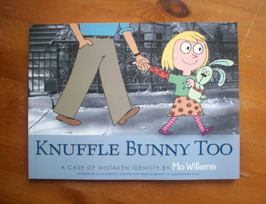 mo willems 'knuffle bunny too'